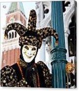 Antonio Below The Tower Acrylic Print