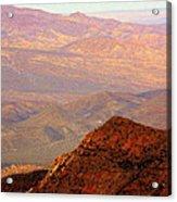 Anza-borrego Desert Foothills Acrylic Print