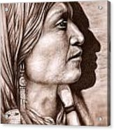 Apache Chief Acrylic Print