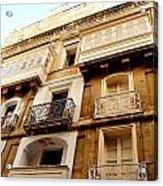 Apartment In Malta Acrylic Print