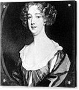 Aphra Behn 1640-1689, English Novelist Acrylic Print