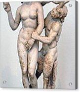Aphrodite Pan And Eros Acrylic Print