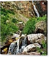 Apikuni Falls Acrylic Print