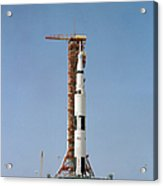 Apollo 10 Space Vehicle On The Launch Acrylic Print