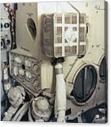 Apollo 13 Lunar Module And The Mailbox Acrylic Print by Everett