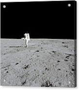 Apollo 14 Astronaut Makes A Pan Acrylic Print