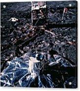 Apollo 14 Lunar Experiments Acrylic Print