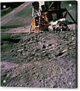 Apollo 15 Lunar Module Acrylic Print