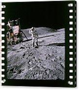 Apollo 16 Astronauts Acrylic Print