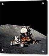 Apollo 17 Astronaut Makes A Short Acrylic Print