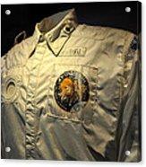Apollo Space Suit Acrylic Print