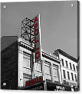 Apollo Theater In Harlem New York No.2 Acrylic Print