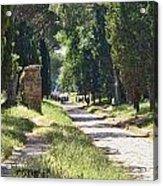 Appian Way In Rome Acrylic Print