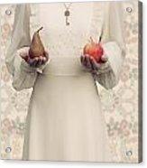 Apple And Pear Acrylic Print