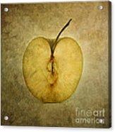 Apple Textured Acrylic Print
