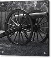 Appomattox Cannon Acrylic Print by Teresa Mucha