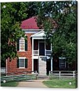 Appomattox County Court House 1 Acrylic Print by Teresa Mucha