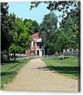 Appomattox County Court House 2 Acrylic Print by Teresa Mucha