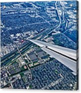 Approach Into Chicago Acrylic Print