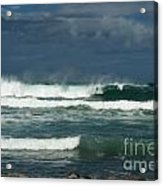Approaching Storm In Maui Acrylic Print