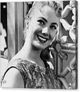 April Love, Shirley Jones, 1957 Acrylic Print by Everett