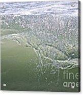 Aqua Action Acrylic Print