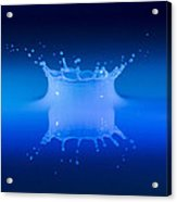 Aqua Blue Acrylic Print