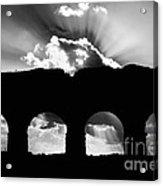 Aqua Claudia Aqueduct Acrylic Print
