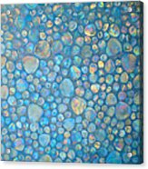 Aqua Stones 2 Acrylic Print