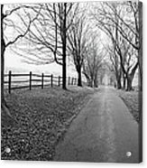 Araby Farm Lane Acrylic Print