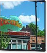Arcade Restaurant Memphis Acrylic Print