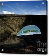 Arch And Islands Acrylic Print