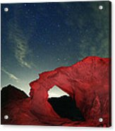 Arch And Stars Acrylic Print