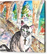 Arch Bishop Of Caterbury Acrylic Print