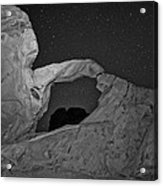 Arch In Valley Of Fire Nevada Acrylic Print