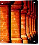 Archaic Columns Acrylic Print