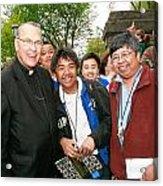 Archbishop Brunett 2007 Acrylic Print