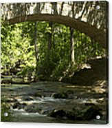 Arched Bridge Acrylic Print