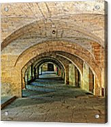 Arched Walkway In Provence Acrylic Print