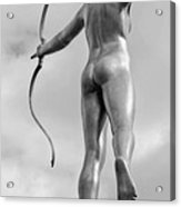 Archer In Black And White Acrylic Print