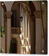 Arches And Columns At The Biltmore Hotel Acrylic Print