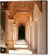Arches And Shadows Acrylic Print