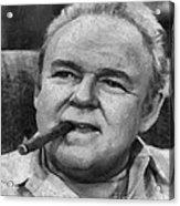 Archie Bunker Acrylic Print