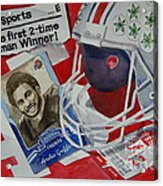 Archie Griffin Acrylic Print