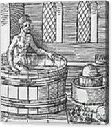 Archimedes And Hydrostatics Acrylic Print