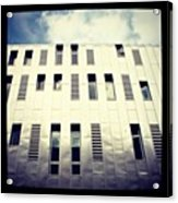 Architects Office, Manchester Acrylic Print by Chris Jones