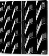 Architectural Uniformity Acrylic Print