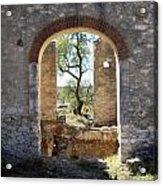 Archway At Pozos Acrylic Print