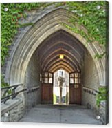 Archway At U Of T Campus Acrylic Print