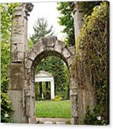 Archway Path Acrylic Print